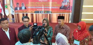 Staf Ahli Gubernur Jambi Secara Resmi Membuka Muswil VIII DPW PPNI Dan Seminar