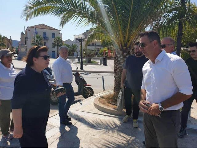 Δημήτρης Κωστούρος: Με αισιοδοξία και σκληρή δουλειά προχωράμε για να φτάσουμε τον Δήμο Ναυπλιέων στην κορυφή