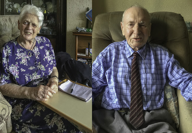 Photo of Mum (87) and Dad (89)