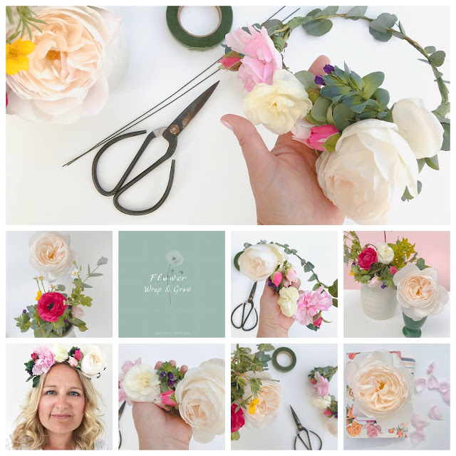 Make Your Own Flower Crown Kit - DIY Floral Crown