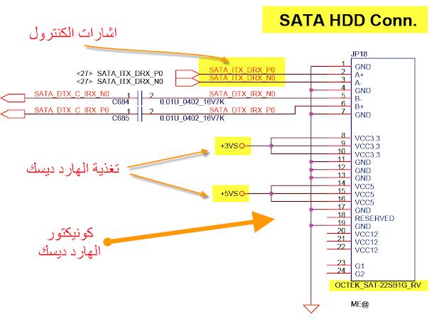 sata hdd connector