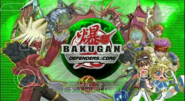 Bakugan Battle Brawlers Defenders Of The Core CSO PPSSPP