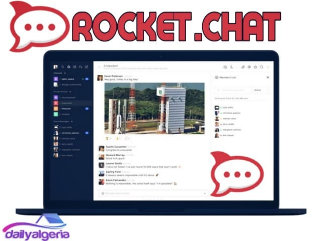 تحميل برنامج روكيت شات - Rocket.Chat2019 -تحميل برنامج chat video للاندرويد  تحميل برامج الشات  تحميل برنامج للمحادثة صوت وصورة  برامج دردشه فيديو عشوائيه  برامج الشات المباشر  برامج دردشة 2019-  برنامج شات كام للكمبيوتر - برنامج غرف دردشة للكمبيوتر