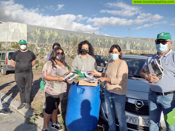 La Palma Orgánica cuenta con la primera promoción de maestros compostadores