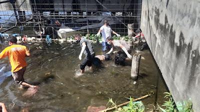 Sosok Mayat Ditemukan Mengambang di Perairan Dermaga Onan Baru