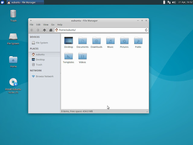 Thunar File Manager