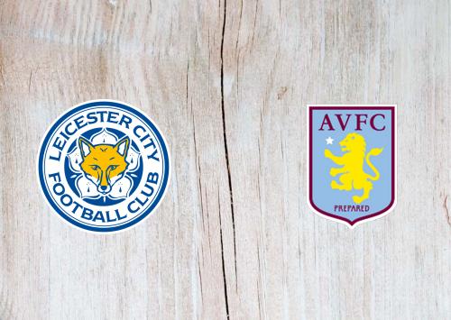 Leicester City vs Aston Villa -Highlights 8 January 2020