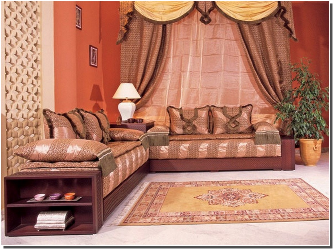 Salon Arabe Nassima Home Salon Arabe Traditionel