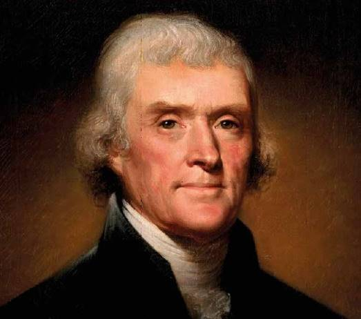 """Το γράμμα στον Αδαμάντιο Κοραή από τον Τόμας Τζέφερσον: """"Είμαι και εγώ επικούρειος""""."""