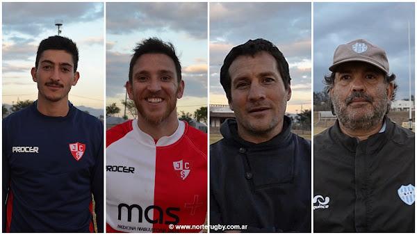 Gaspar Fainguersch, Santiago Larrieu, Lucio López Fleming y Javier Román Figueroa