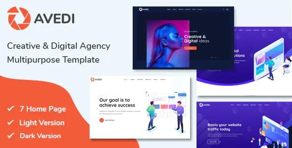 Best Creative & Digital Agency Multipurpose Template