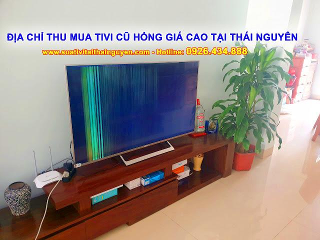 Địa chỉ thu mua tivi cũ hỏng Giá Cao tại Thái Nguyên