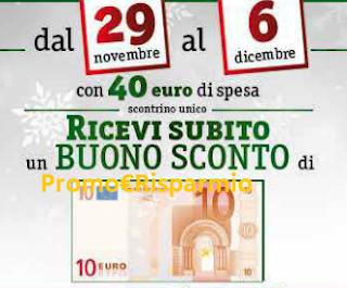 Logo Buono sconto da 10 euro sicuro: e con Famila risparmi sulla prossima spesa
