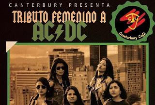 Concierto Tributo Femenino a AC/DC en Bogotá 2018
