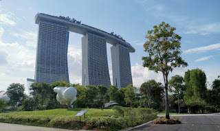 Gardens by the Bay o Jardines de la Bahía. Singapur o Singapore.