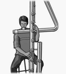 monochrome illustration:sub contrabass flute
