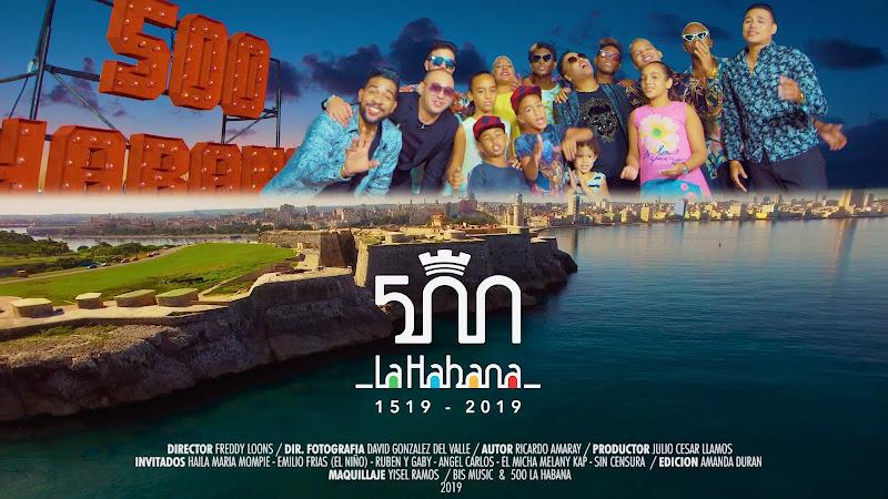Amaray e invitados - ¨Majestuosa Habana¨ - Videoclip - Director: Freddy Loons. Portal Del Vídeo Clip Cubano
