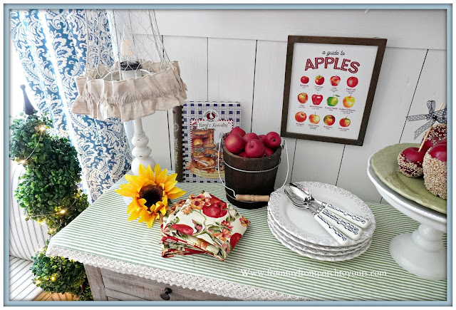 cottage farmhouse style fall decor-emma bridgewater-gooseberry patch-From My Front Porch To Yours