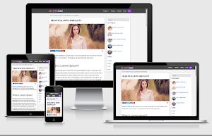 Simple fast blogger template carregamento em menos de 1 Segundo