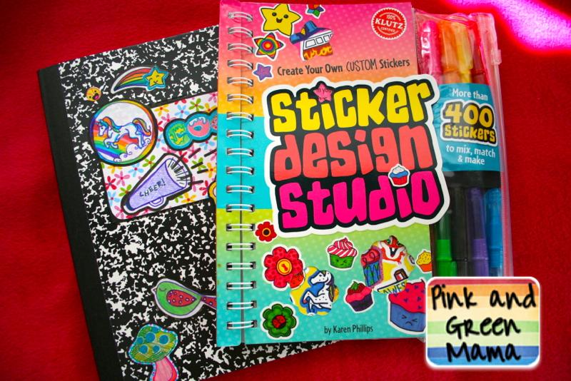 Klutz sticker design studio fun