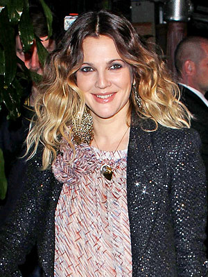 Drew Barrymore, Ombre hair trend