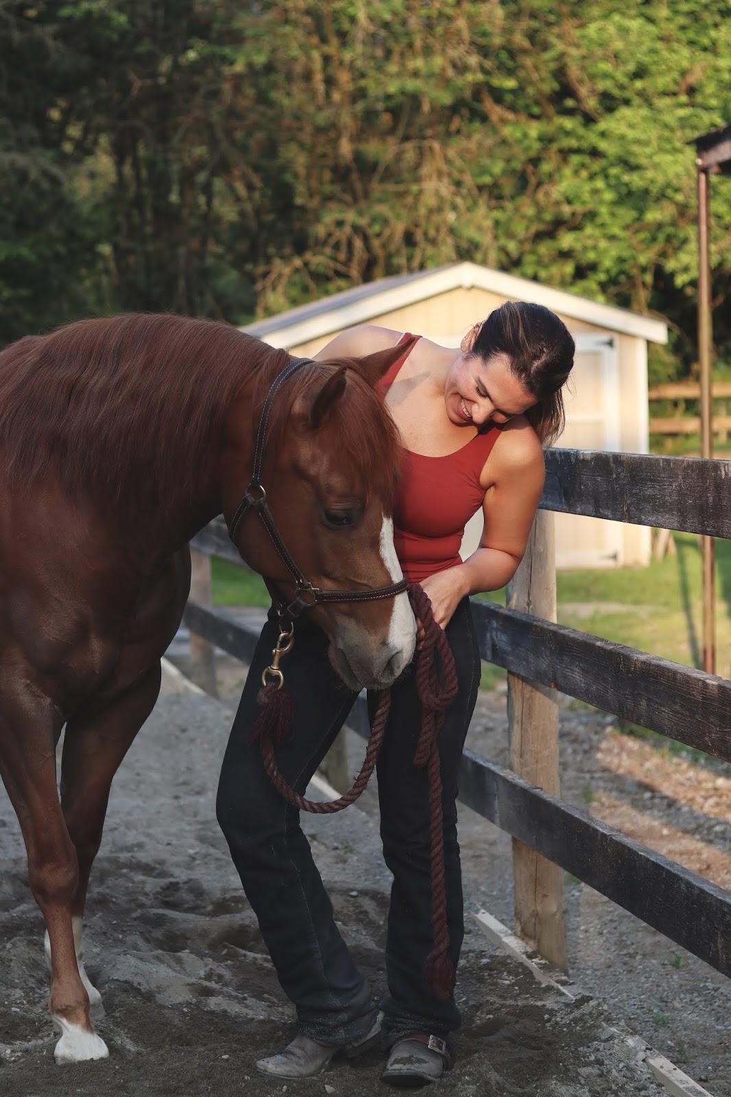 Aleesha harris horses