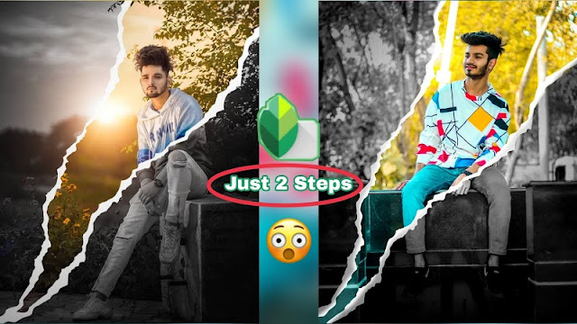 Snapseed 2 Steps Photo Editing | Snapseed Photo Editing Post