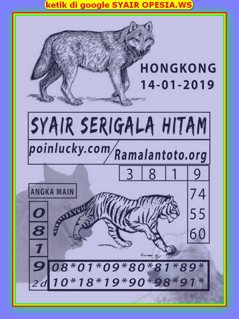 Kode syair Hongkong Selasa 14 Januari 2020 127