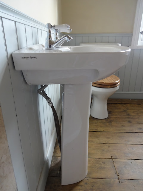 Basin Sink with Pipes