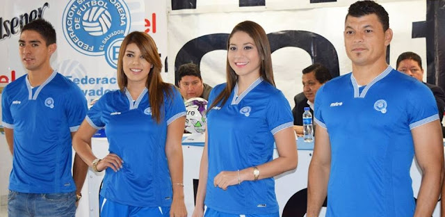 1ea0786548c Mitre El Salvador 2015 16 Home Jersey