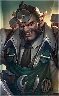 Roger Dr Beast Heroes Fighter Marksman of Skins V1