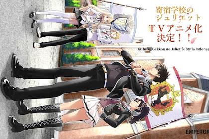 Download Anime Dragon Crisis Kishuku Gakkou No Juliet (Episode 1 - 10) Subtitle Indonesia X265 -