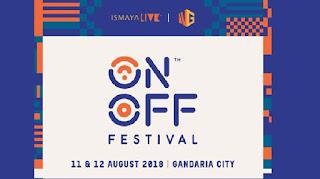 cari tiket event on off festival di gandaria city jakarta