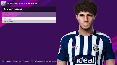 PES 2020 Faces Filip Krovinovic by Rachmad ABs