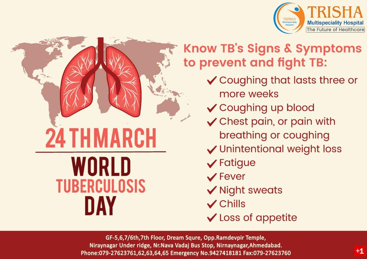 Trisha Multispeciality Hospital: Today on World Tuberculosis
