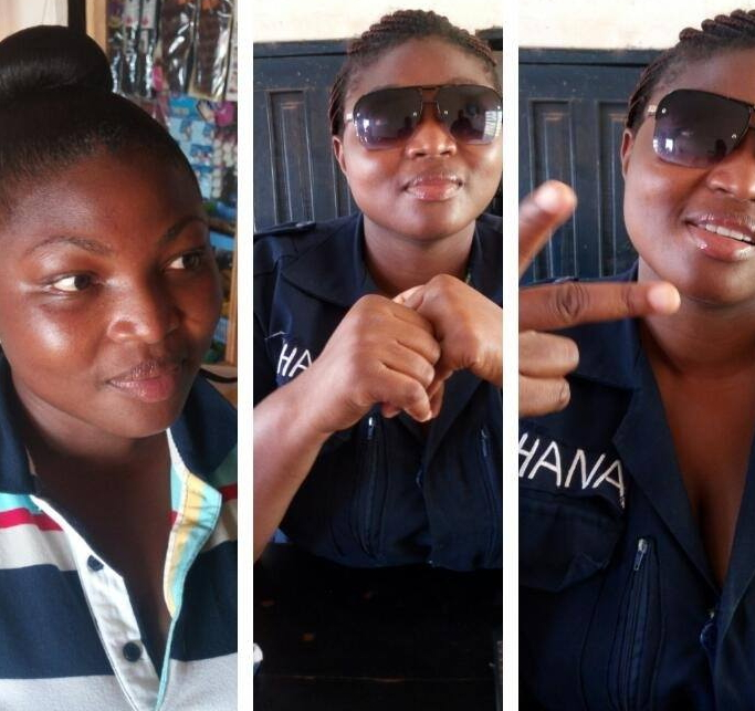 ghanaian police officer commit suicide monday