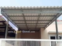 Kanopi Minimalis Atap Alderon Dingin dan Kedap Suara
