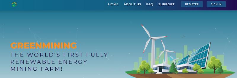 Мошеннический сайт greenmining.energy – Отзывы, развод, платит или лохотрон? Информация