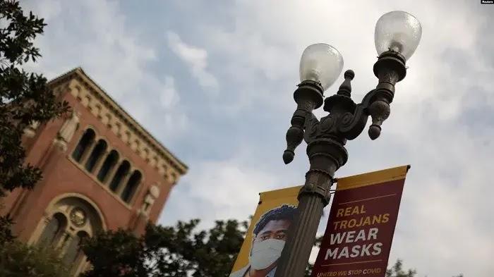 Universitas di Amerika Serikat Dibuka, Kasus Virus Corona Bertambah
