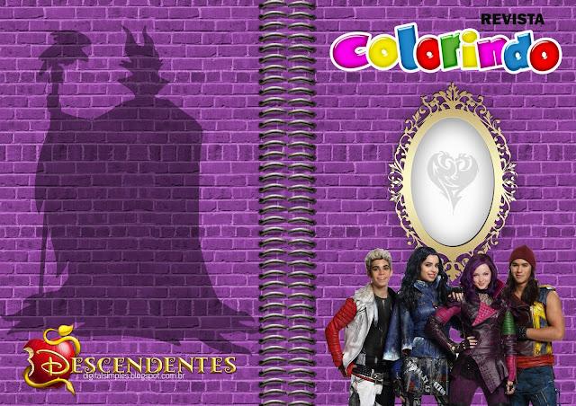 Descendientes: Imprimibles Gratis para Fiestas.