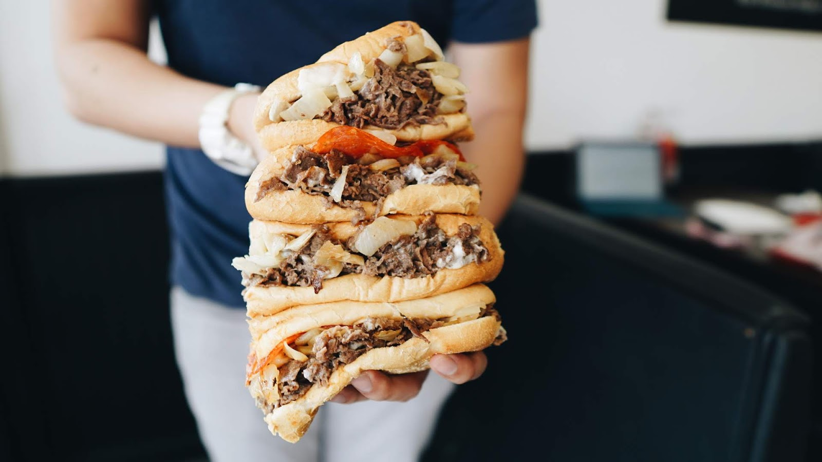 Cheesesteaks Worth Craving @ Philly's Best - Santa Ana