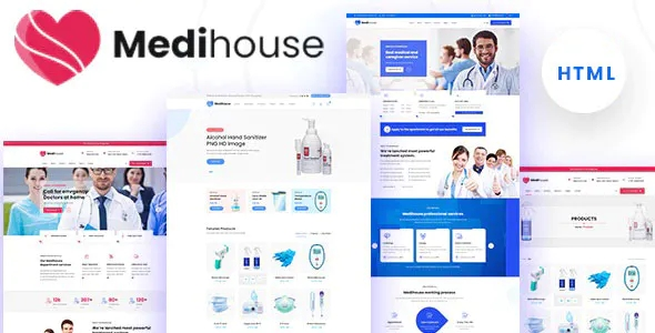 Best Hospital Medical Caregiver HTML Template