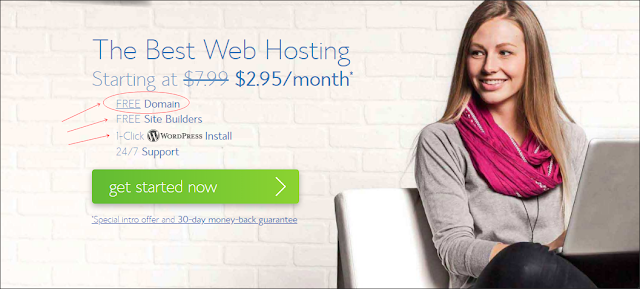 Bluehost Web Hosting Discount Deal