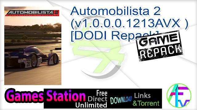 Automobilista 2 (v1.0.0.0.1213AVX ) – [DODI Repack]