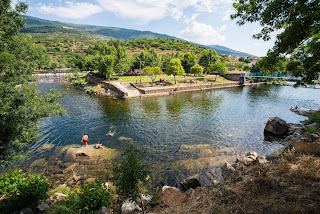Verano, Piscina natural El Simón. Valle del Jerte