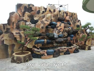 Jasa Pembuatan Relief Kolam Tebing Cilacap   Tukang Dekorasi Relief Air Terjun
