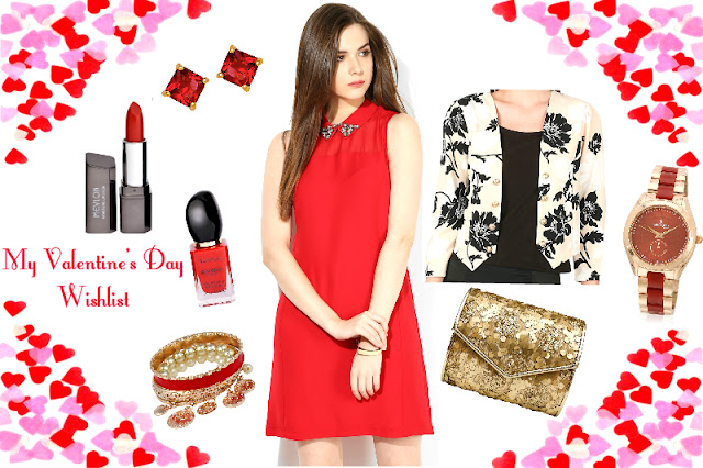 My Valentine's Day Outfit Wishlist Jabong