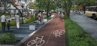 Bicycle track in Hyderabad .. Begumpet as a pilot project - Saifabad .  హైదరాబాద్ లో సైకిల్ ట్రాక్.. పైలట్ ప్రాజెక్టుగా బేగంపేట - సైఫాబాద్...