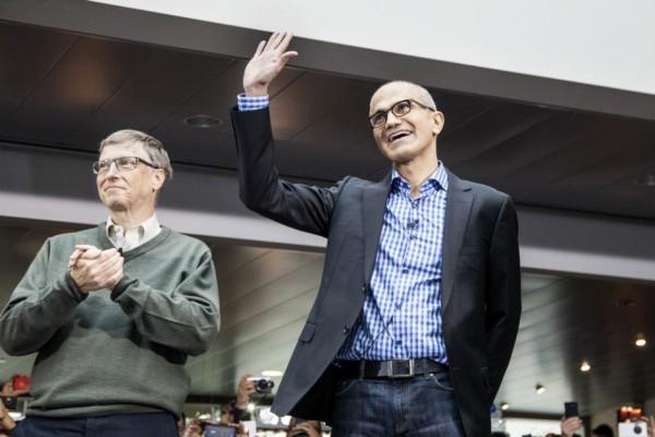 CEO da Microsoft, Satya Nadella, agora é o presidente da empresa
