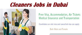 Office Cleaners Recruitment in Dubai